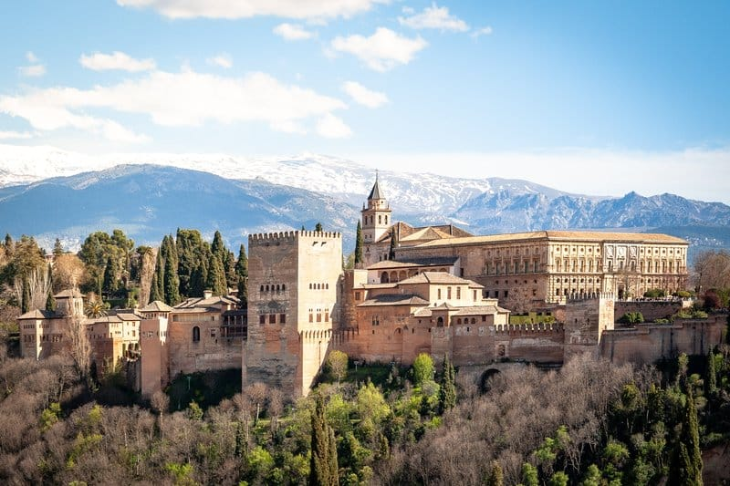 bezienswaardigheden andalusië alhambra