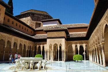 Alhambra Nasridische Paleizen