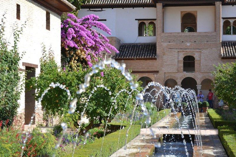 Fonteinen Alhambra