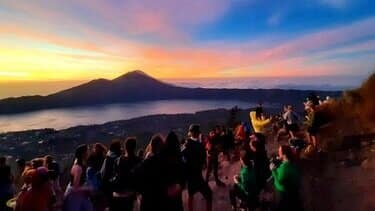 bali vulkaan zonsopgang