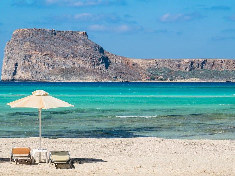 ligbedden balos beach