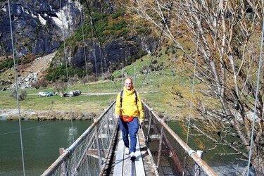 rob roy gletsjer wandeling