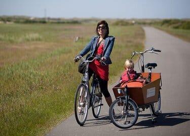 eilandhoppen waddeneilanden fiets