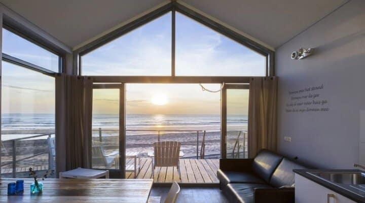 luxe vakantiehuis aan zee