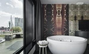 hotel met suana en jacuzzi op kamer rotterdam