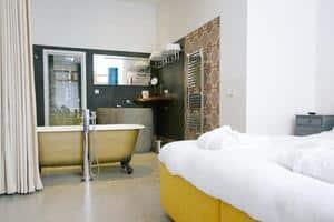hotelkamer met jacuzzi en sauna veluwe