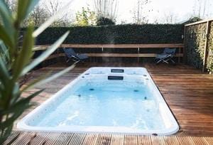 huisje met prive zwembad