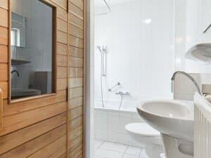 huisje met sauna en bubbelbad