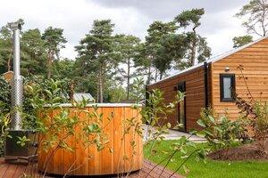 huisje met sauna en jacuzzi 2 personen