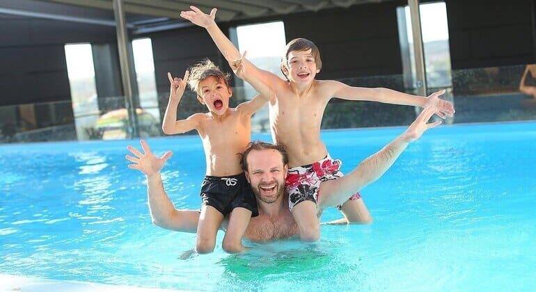 huisje met zwembad nederland