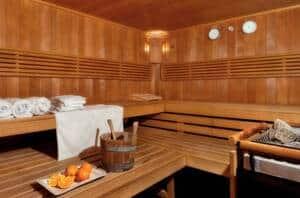 luxe hotel texel met sauna
