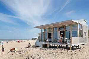 strandhuisje zeeland met hond