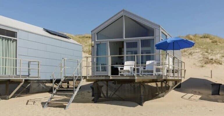 tiny house aan zee nederland