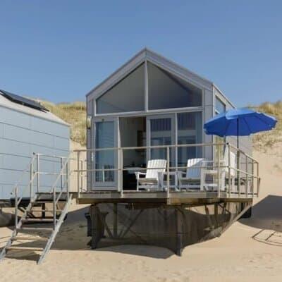 tiny house vakantie aan zee