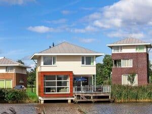vakantiehuis friesland aan het water 6 personen