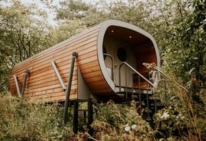 vakantiepark met boomhut nederland