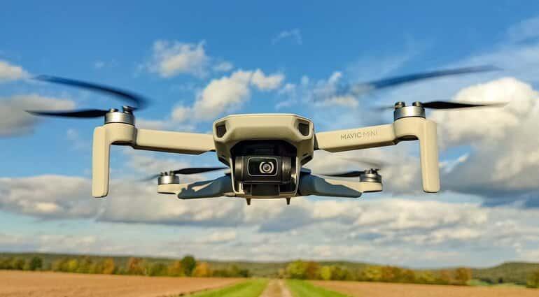 drone voor op reis