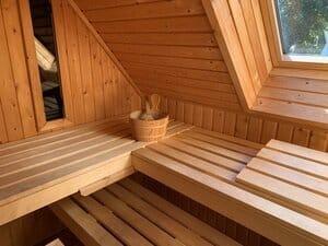 luxe huisje met sauna en jacuzzi
