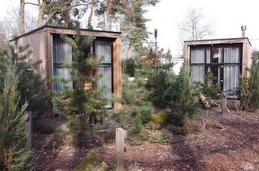 overnachten in een tiny house droompark maasduinen