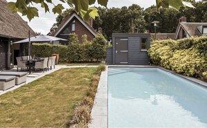 wellness huisje met prive zwembad aan zee