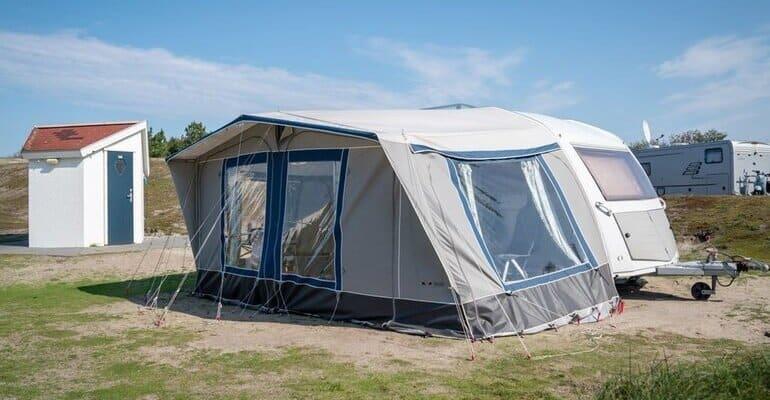 Camping met prive sanitair noord holland