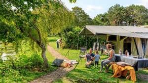 camping aan de kust in nederland