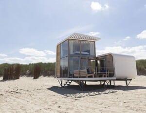 camping aan de kust van zeeland