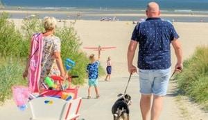 camping aan zee nederland met hond