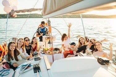 camping met eigen boot