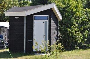 camping met eigen sanitair noord holland