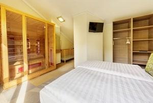 huisje met sauna zeeland 2 personen