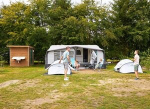 kampeerplaats met prive sanitair veluwe