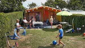 kleine camping aan zee nederland