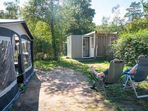 mini camping met prive sanitair veluwe