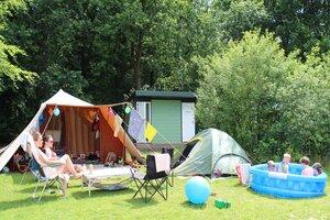 camping met prive sanitair utrechtse heuvelrug