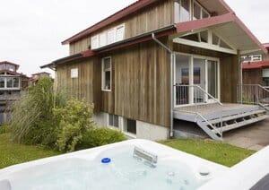 luxe vakantiehuis met aanlegsteiger