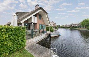 vakantiehuis met eigen boot