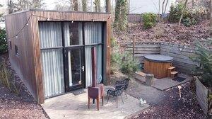 tiny house met hottub limburg