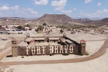 Fort Bravo tabernas filmset