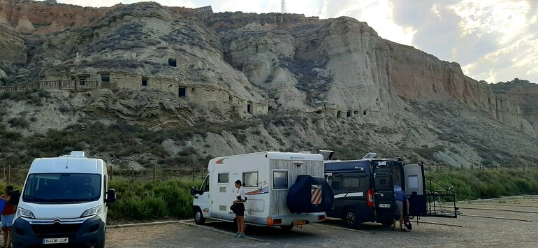 bardenas reales camping