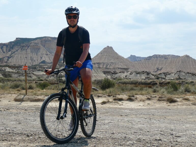 bardenas reales fietsen