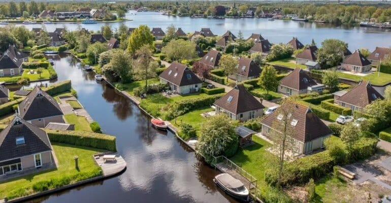huisje aan het water nederland tips