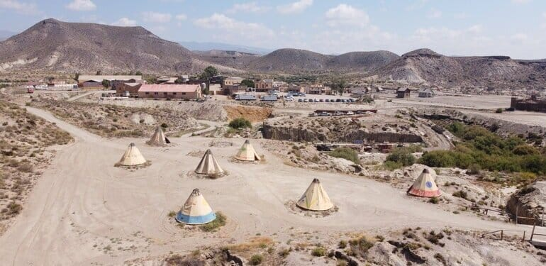 tabernas woestijn camping