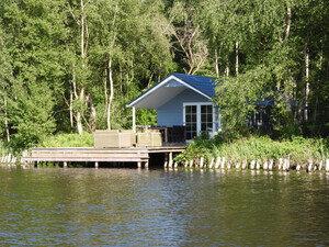 vakantiehuis aan viswater