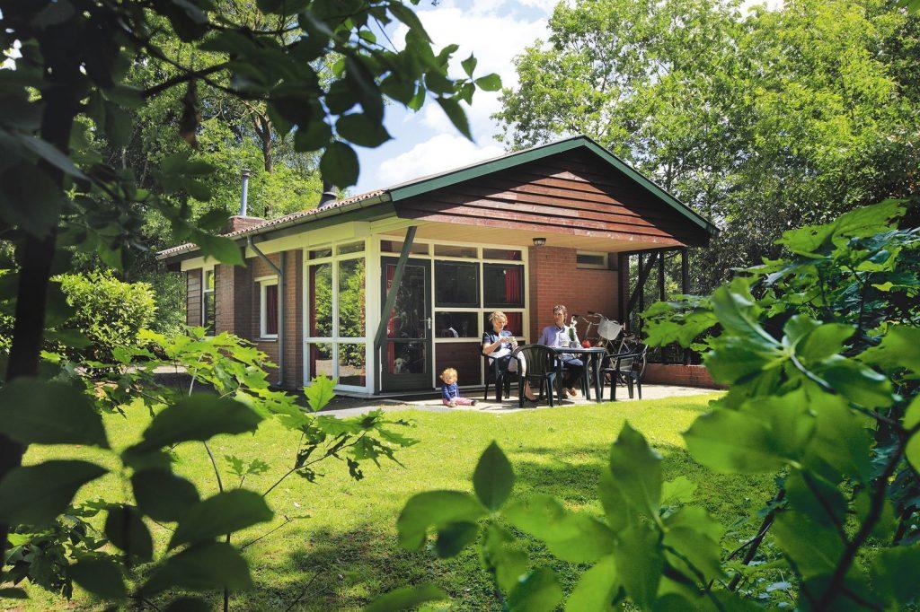 bungalow met open haard 2 personen
