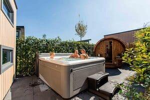 romantisch huisje met sauna en bubbelbad limburg